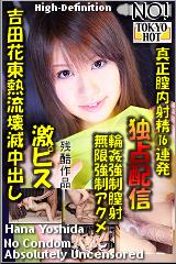 吉田花東熱流壊滅中出しのパッケージ画像