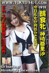 餌食牝 神崎亜里沙のパッケージ画像