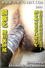 餌食牝 陸川美紗緒のパッケージ画像