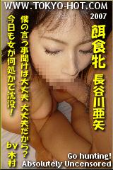 餌食牝 長谷川亜矢のパッケージ画像