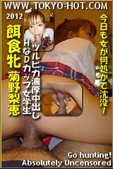 餌食牝 菊野梨恵のパッケージ画像
