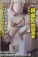 餌食牝 陸田亜希のパッケージ画像