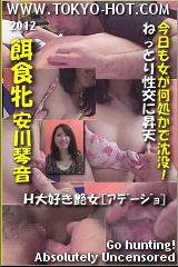 餌食牝 安川琴音のパッケージ画像
