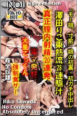 澤田りこ東熱流28連騙汁のパッケージ画像