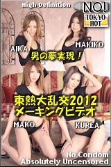 東熱大乱交2012メーキングビデオのパッケージ画像