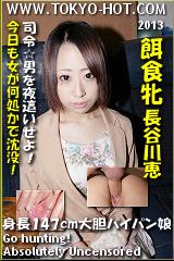 餌食牝 長谷川恵のパッケージ画像