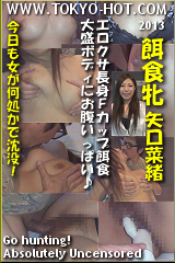 餌食牝 矢口菜緒のパッケージ画像