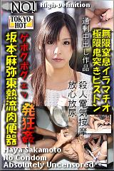 坂本麻弥東熱流肉便器のパッケージ画像