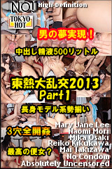 東熱大乱交2013 Part1のパッケージ画像